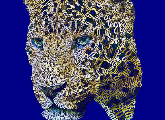 Amur Leopard Giclée Canvas 16x20