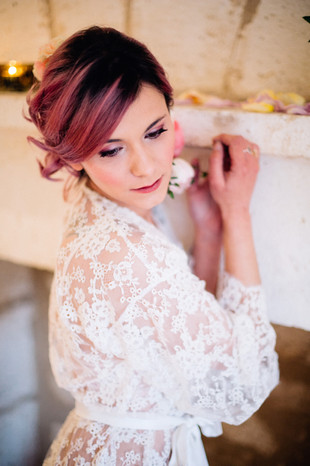 "Shooting ""Bridal boudoir"" Ulrike Pien"