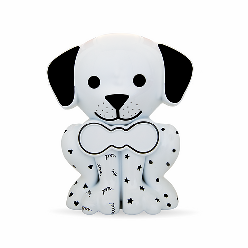 Cachorrinho Branco com Pintura