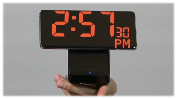 Digital Clock & Charge