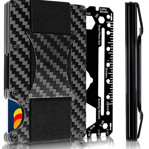 Minimalist Rigid Wallet w/ FLEXCLIP Tab Attached