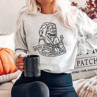 dead inside but caffeinated sweatshirt model mock a_edited.jpg