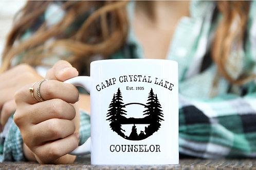 Camp Crystal Lake Counselor Mug