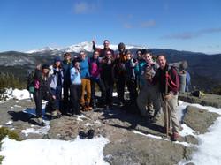 First Crew Peak - Mt Webster