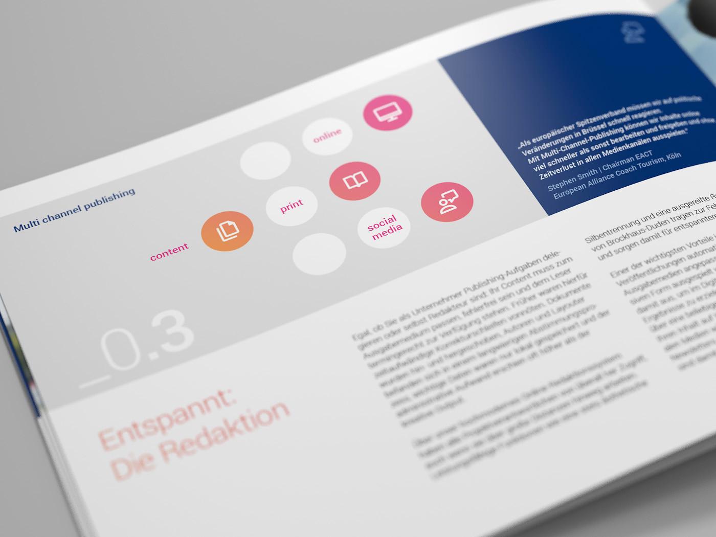 corporate design broschuere