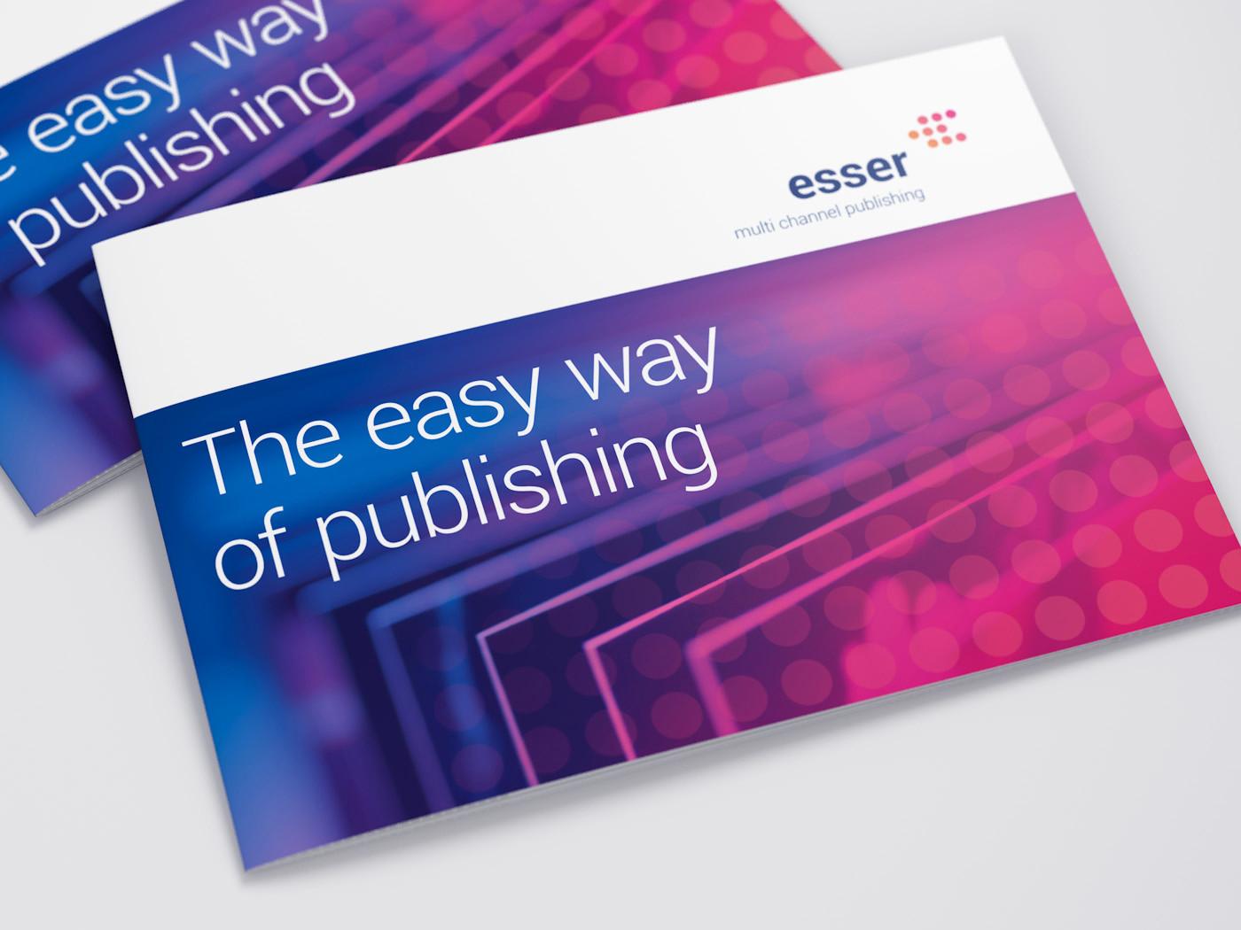 corporate design entwicklung broschüre