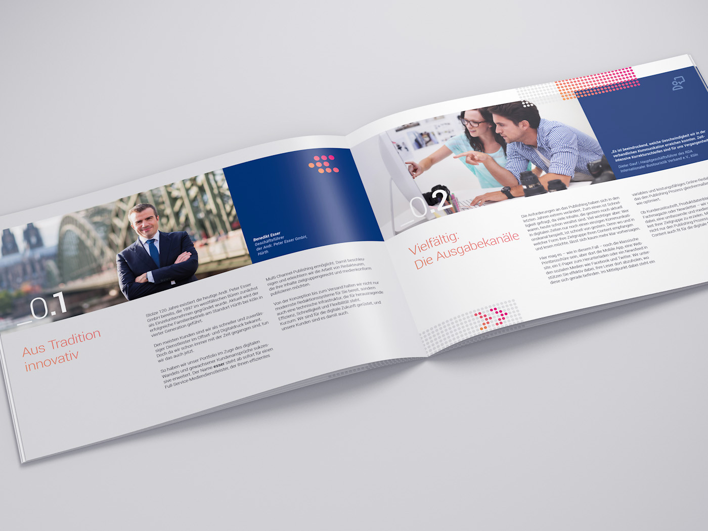 corporate design printmedien