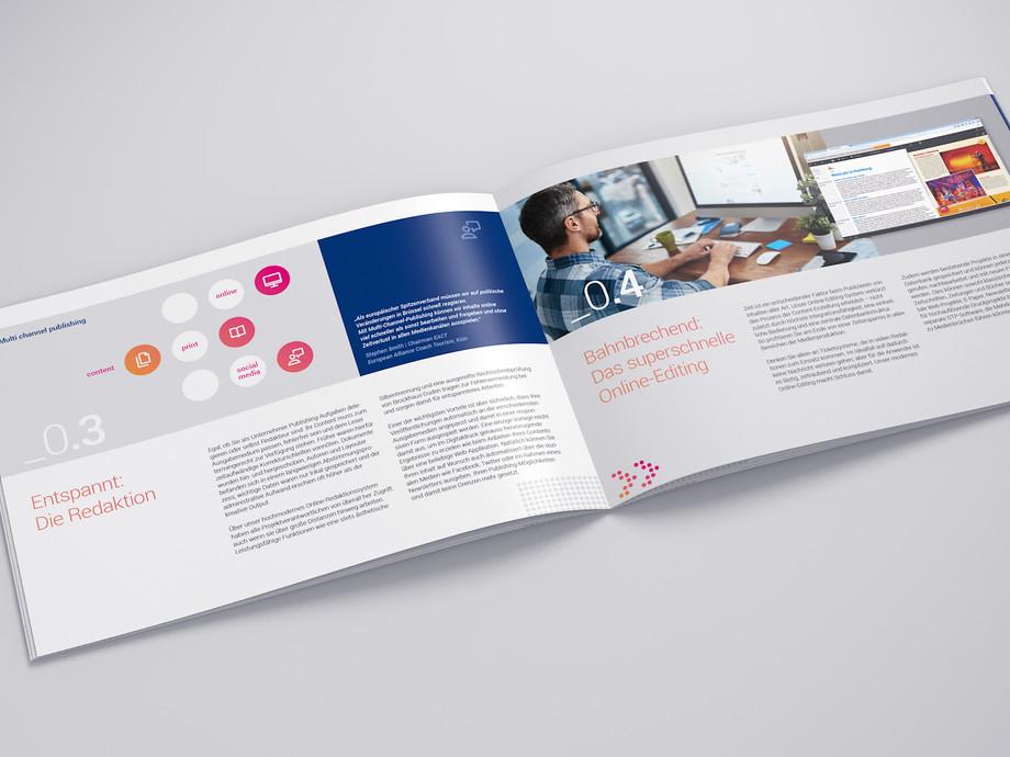 corporate design entwicklung printmedien