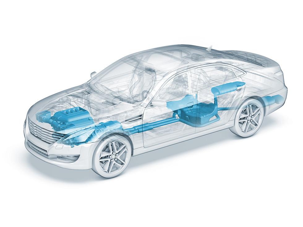 auto-durchsichtig-motor-antrieb-abgassan