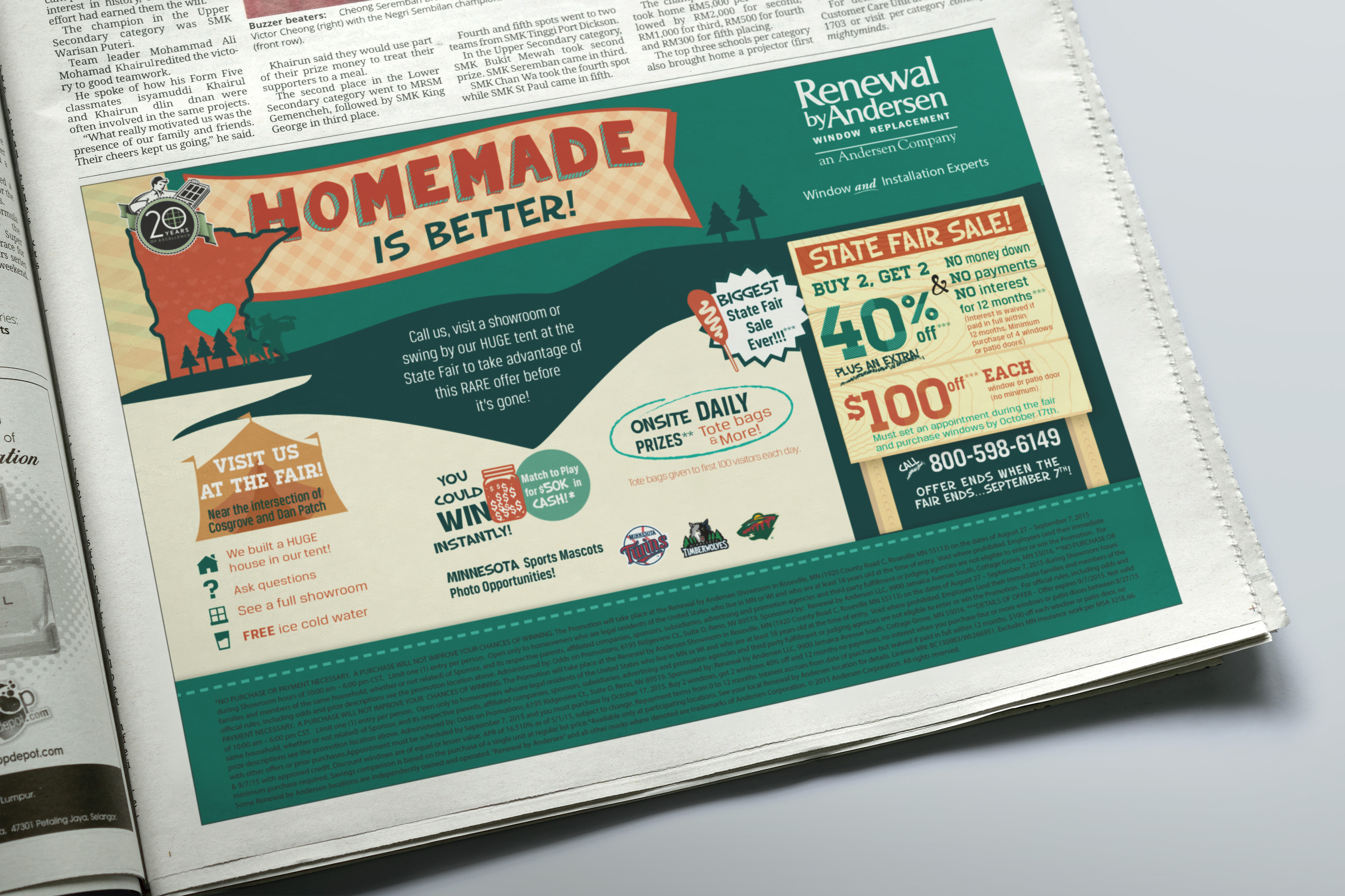 RbA Newspaper Ad