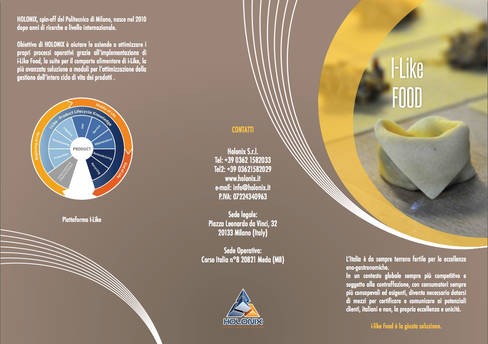i-Like Food Brochure