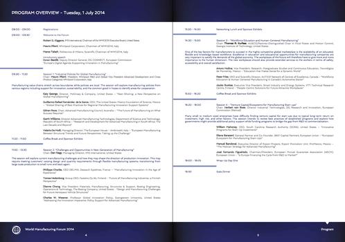 Program Booklet