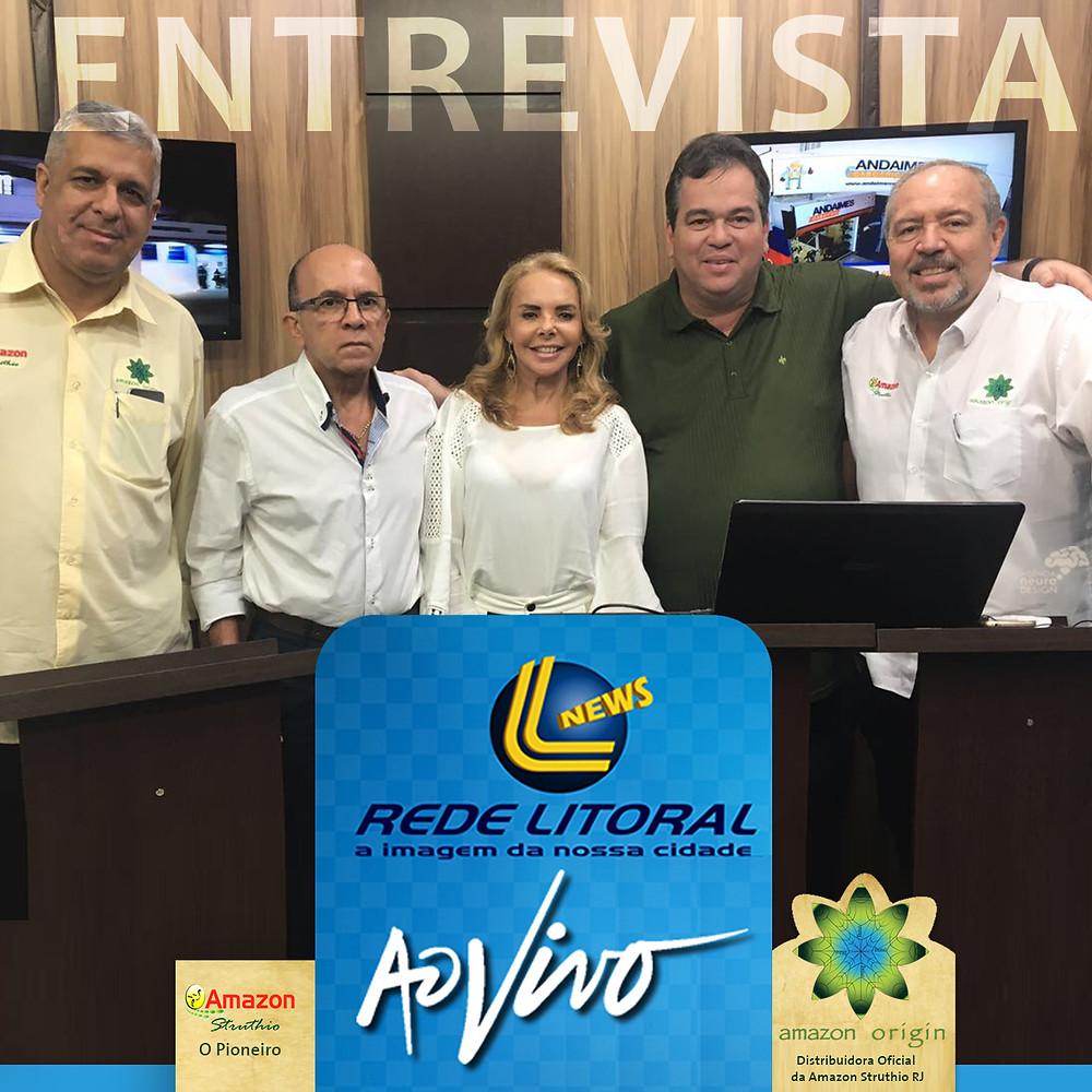 Antonio Carlos, Dr. Paulo Peralva, Marcia, Sidnei Marinho e Etienne Salles.