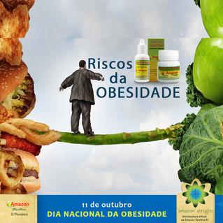 11 de Outubro: Dia da Obesidade. Riscos da Obesidade.