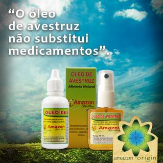 O óleo de avestruz não substitui medicamentos