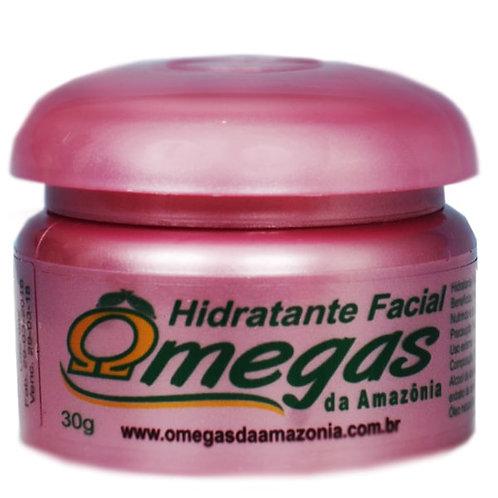 Hidratante facial ômegas