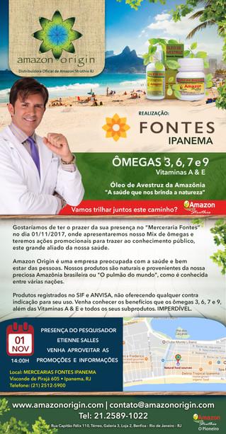 Mercearia Fontes Ipanema - RJ. Juntos pela saúde do carioca!