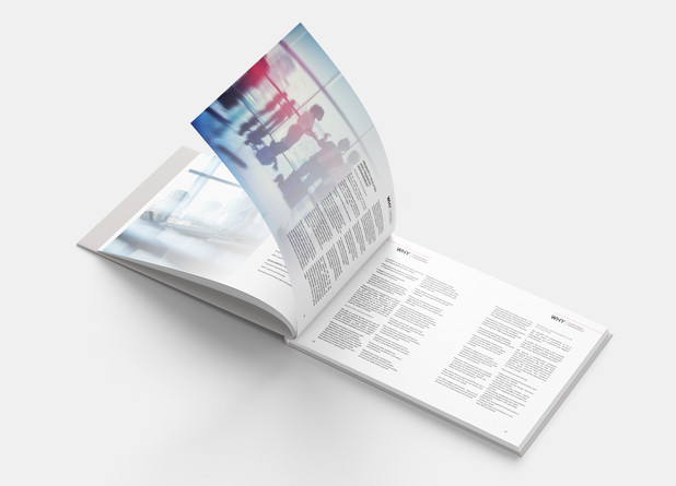 A4 Landscape Perfect Bound Book
