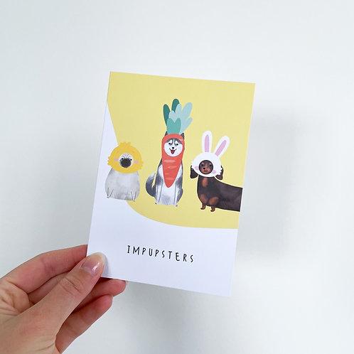 Impupsters Celebration Card