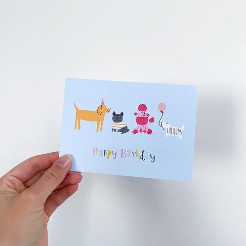Happy Barkday - Celebration Card