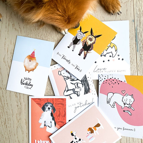 5 Pack Celebration Cards