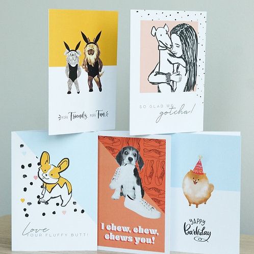 Chews and Party Celebration Card Pack