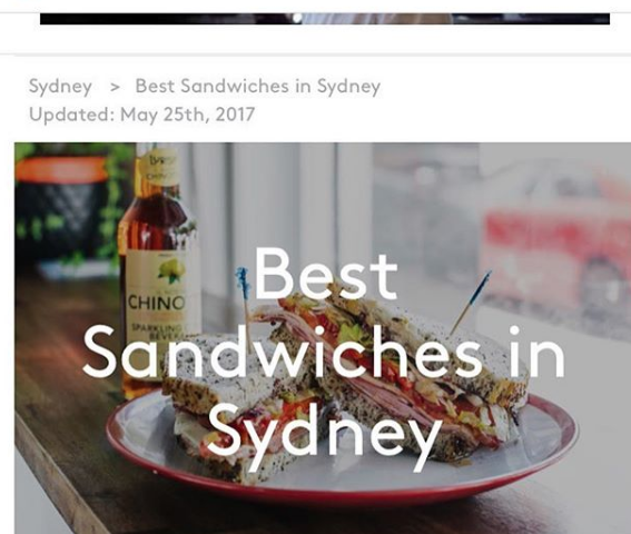 best sandwiches in sydney