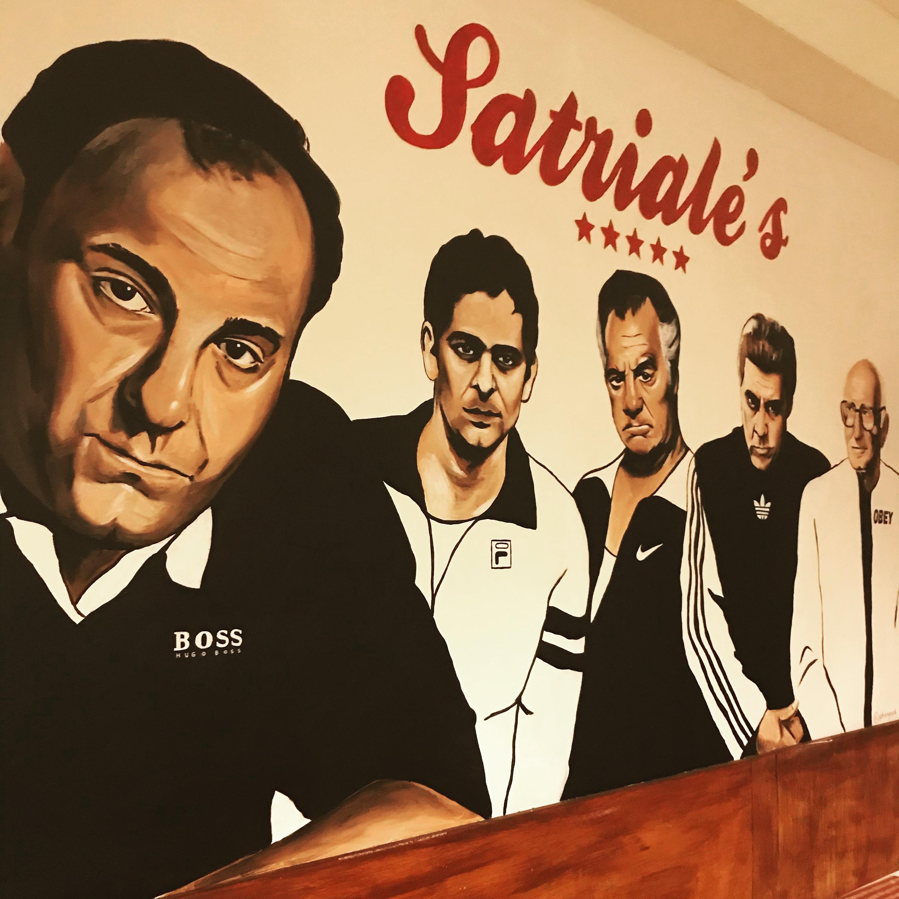 sopranos mural