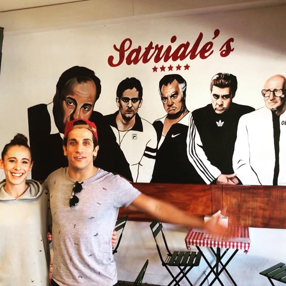 Firass Dirani at Satriale's