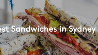 Sydney's Best Sandwiches