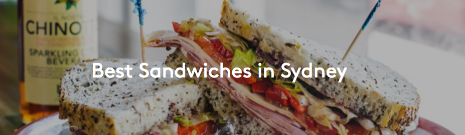 Sydney S Best Sandwiches