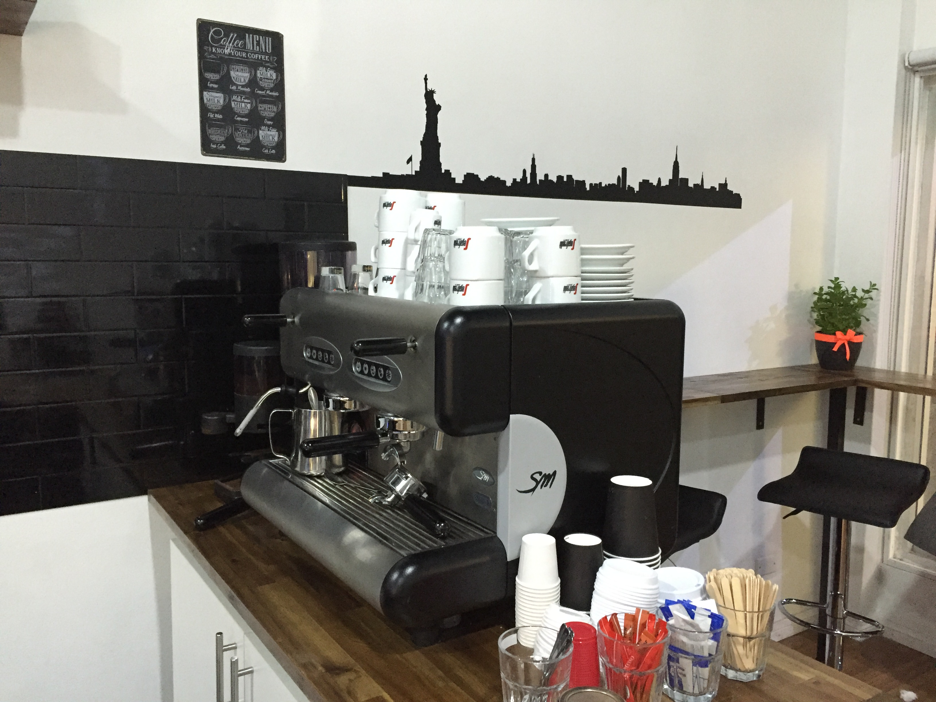 Segafredo coffee machine