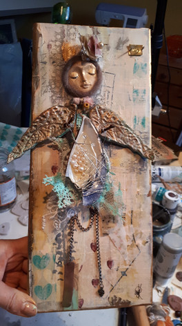 Art Doll Assemblage
