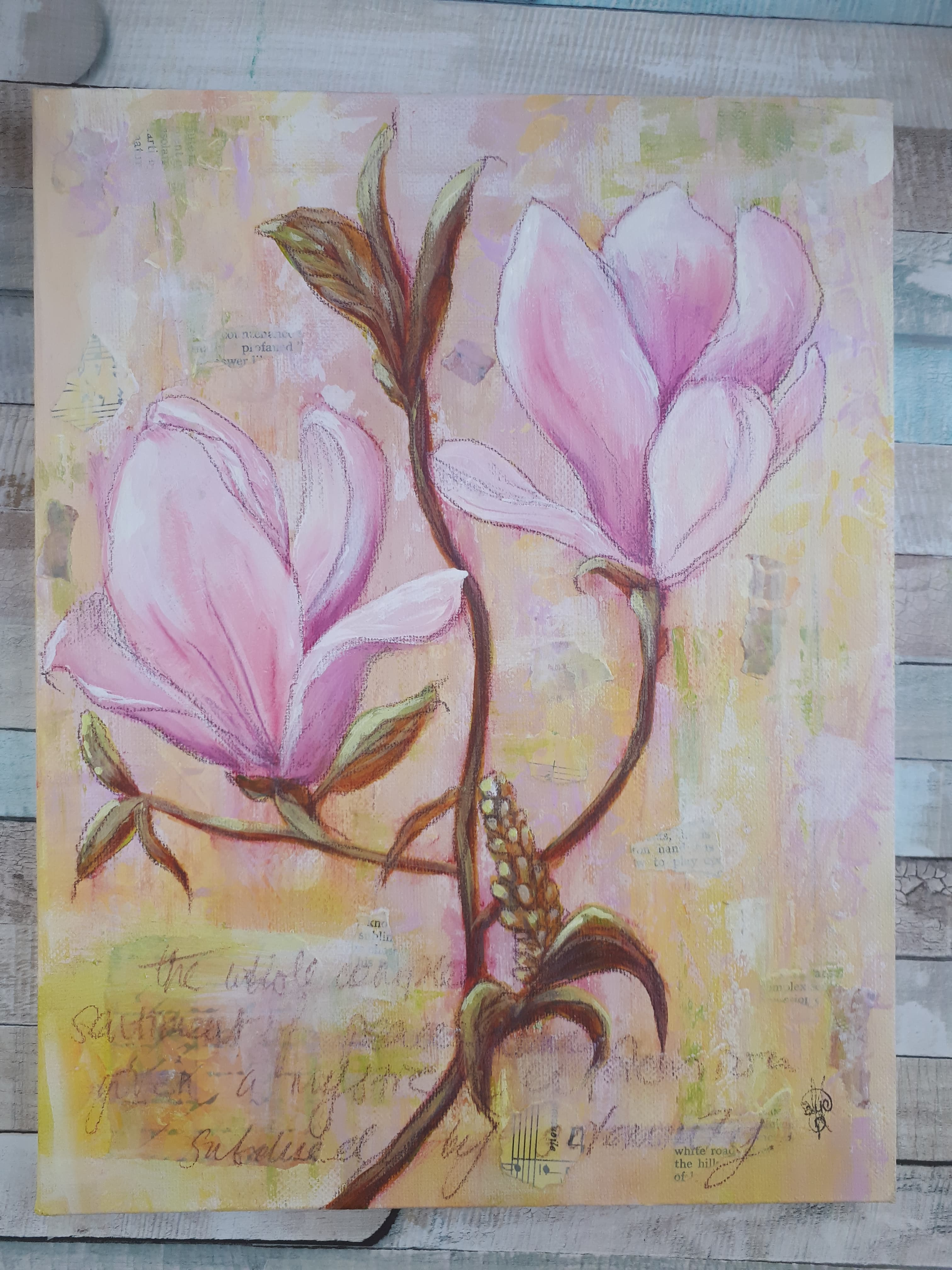 Spring Magnolias 2