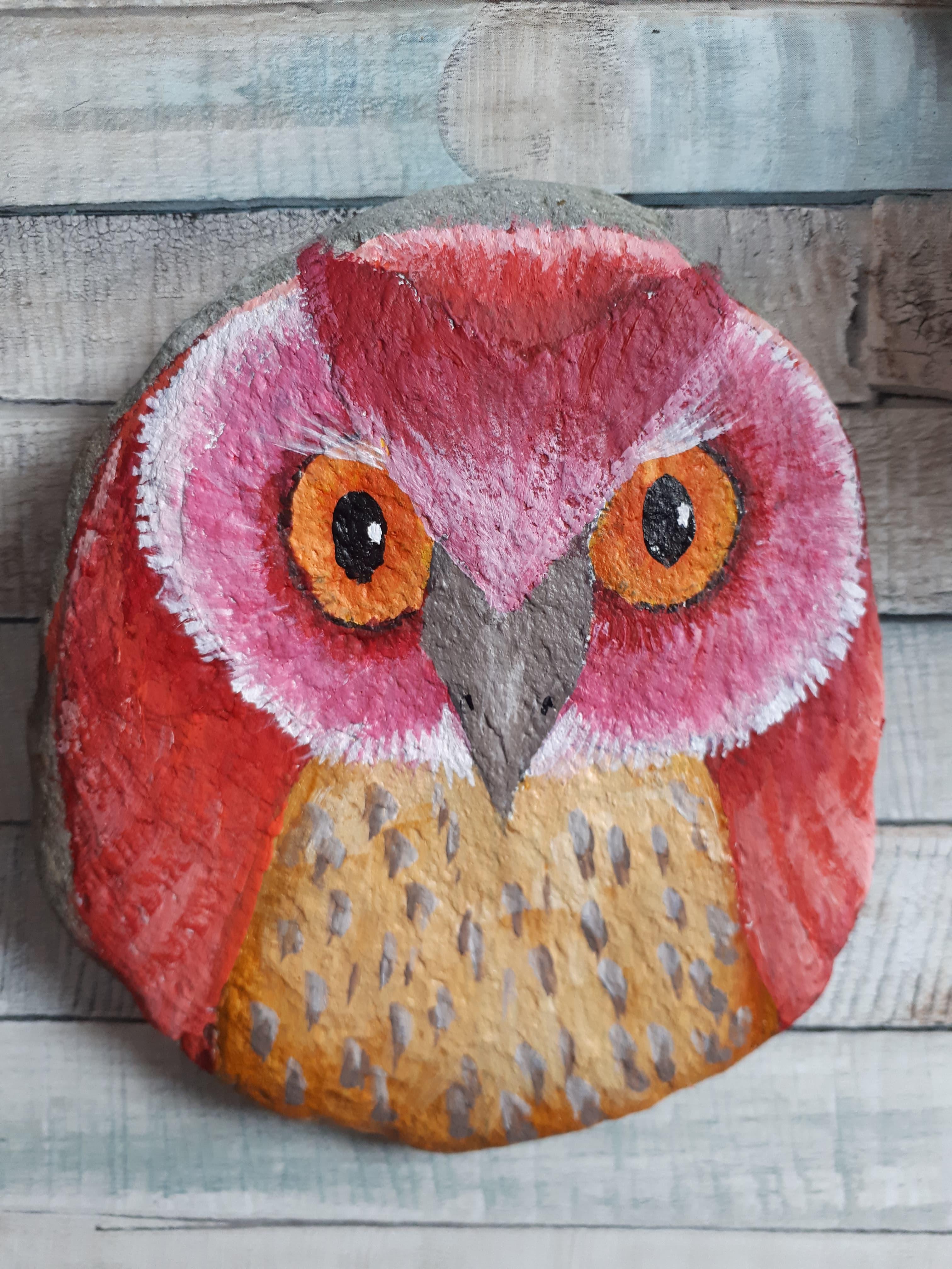 Owl Pebble