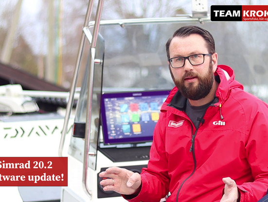 Nyhet! Simrad software update 20.2