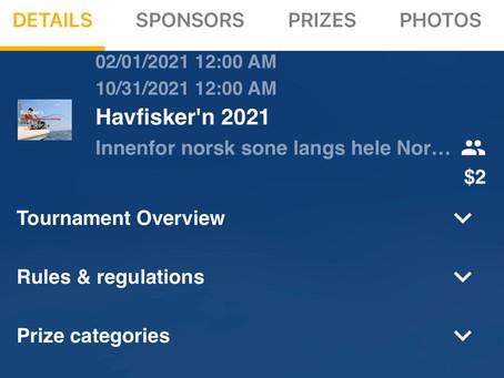 Havfisker'n 2021 - Registrering i FishDonkey