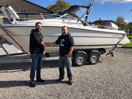 Ny båt - Karnic 2250
