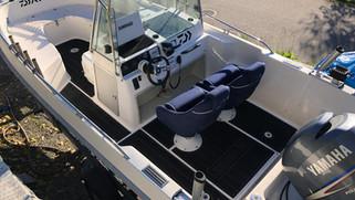 Testet: EVA-dørk i båten