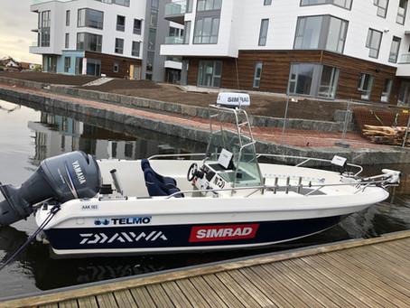 Radar i båten - Simrad Halo 20+