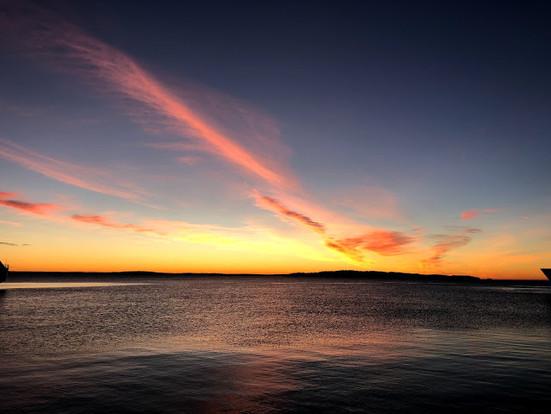 Eldøya, testing av autopilot og litt fisking