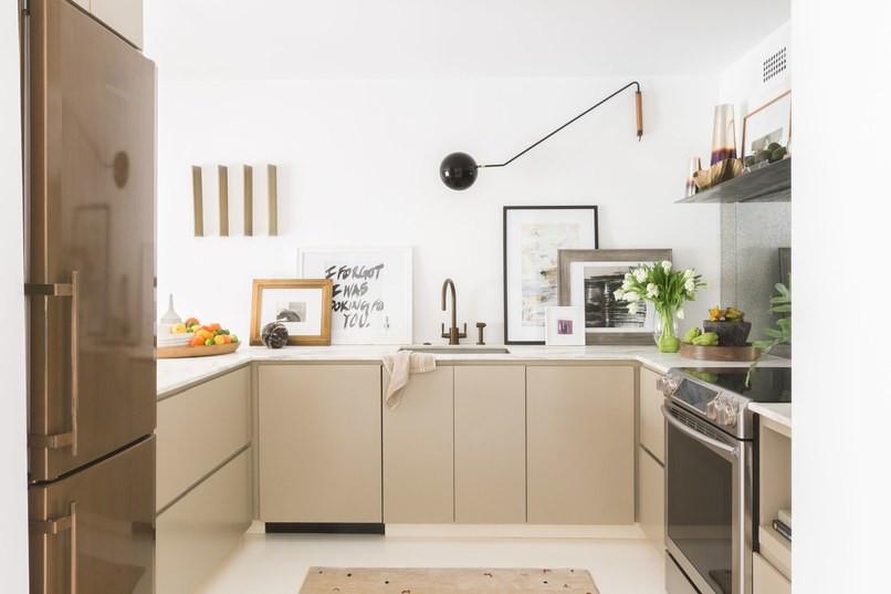 Cozinha com piso Epoxi