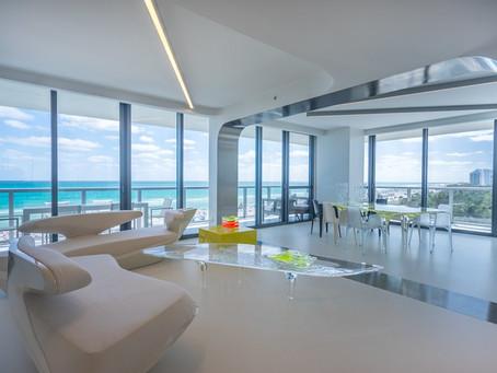 Apartamento da Zaha Hadid