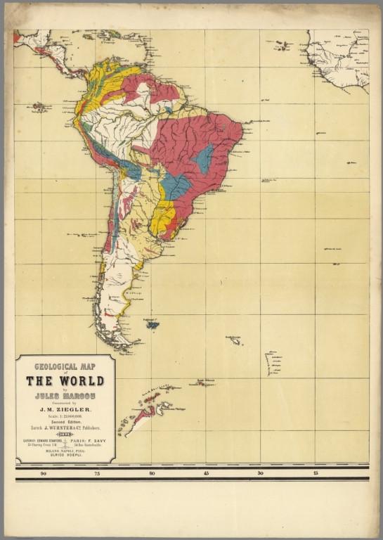 América do Sul - 1875