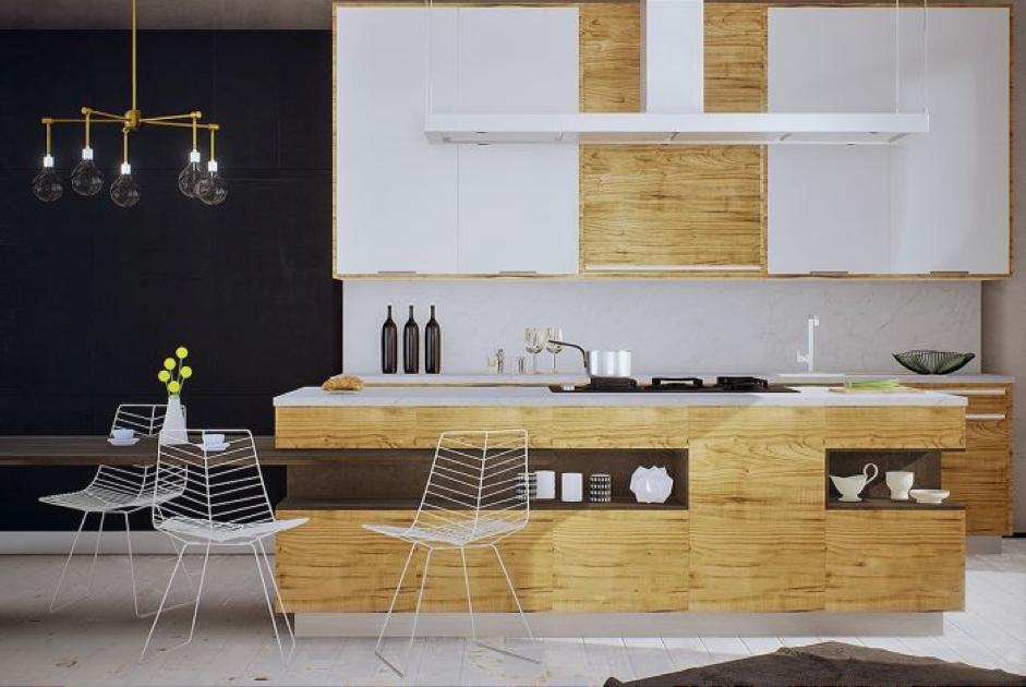 Cozinha Estreita 9