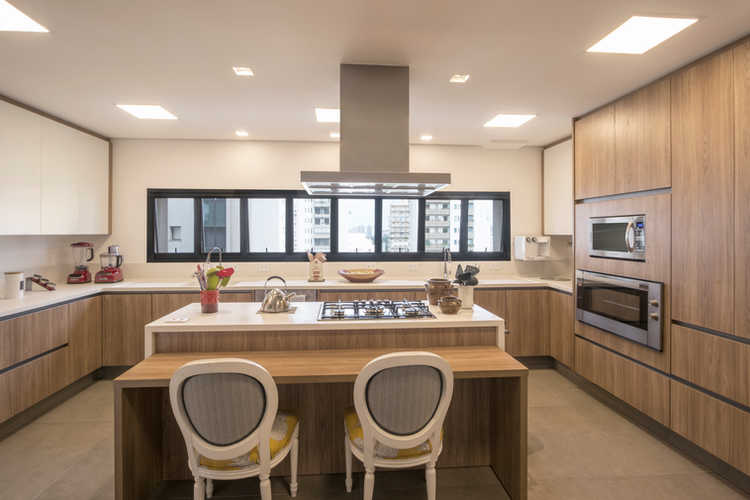 Cozinha Clean e Clara