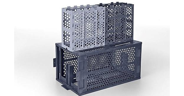 Fôrmas de plástico viabilizam componentes pré-fabricados leves e modulares