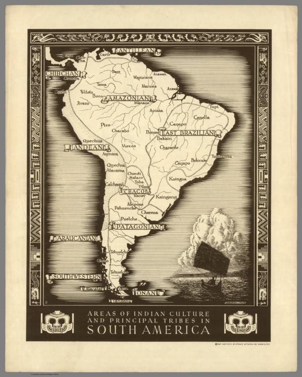 America do Sul - 1812