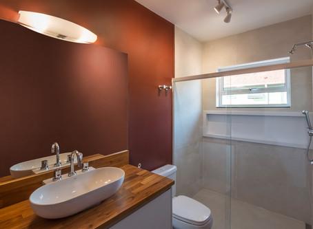 Banheiros Casa F&A - Antes x Depois