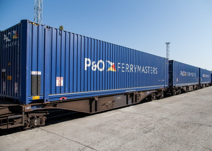 P&O Ferrymasters' 45ft palletwide high cubes